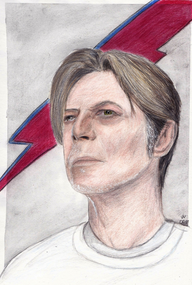 David Bowie by monkfan1992